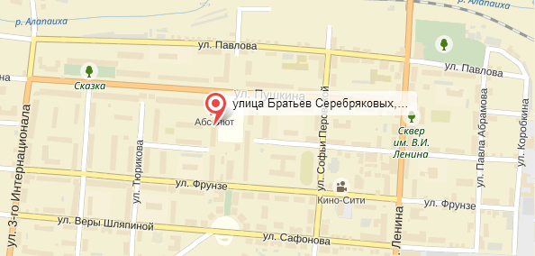 Карта проезда Бр. Серебряковых 13