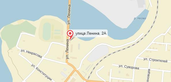 Карта проезда Ленина 2